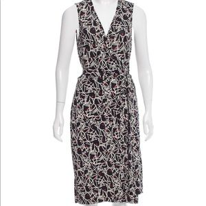 RARE DVF x Playboy Anniversary Wrap Dress